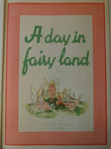 a day in fairyland story and picture book tales sigrid rahmas a day in fairyland story and