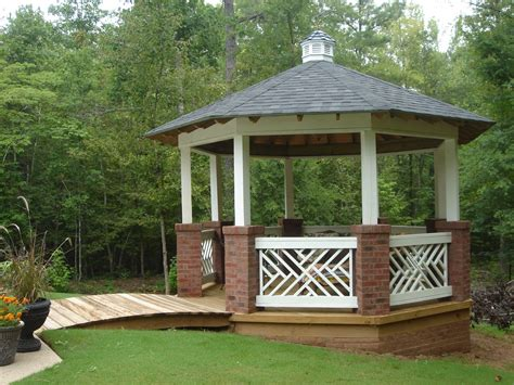 backyard gazebo how to add backyard shade by archadeck st louis decks