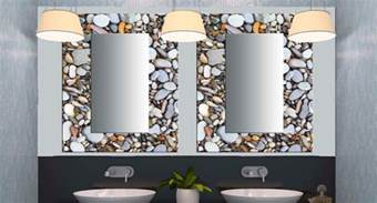 Designer Mirrors For Bathrooms Glass Decorative Mirrors Contemporary Bathroom Miami