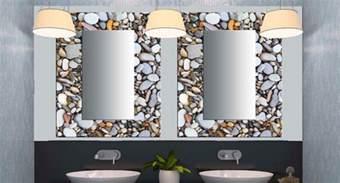 Contemporary Bathroom Mirror With Glass Shelf - glass decorative mirrors contemporary bathroom miami by belfortglass llc