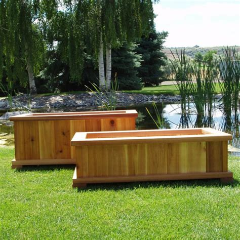 Planters Modern by Planter Boxes With Wooden Outdoor