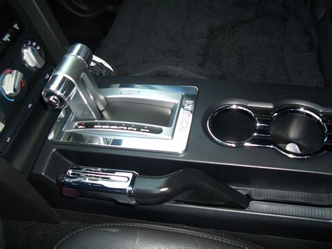 2006 mustang automatic shifter roush automatic shifter bezel the mustang source ford