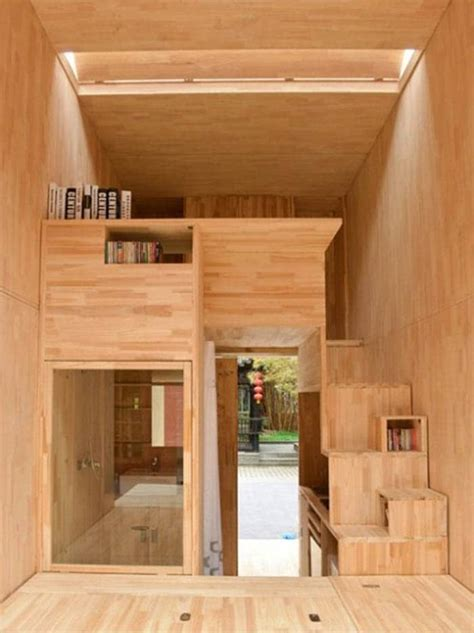 micro living spaces chinese students create ingenius 75sf micro living space