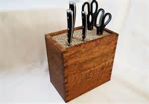 Custom Made Bedroom Furniture hand made knife block by clark wood creations custommade com