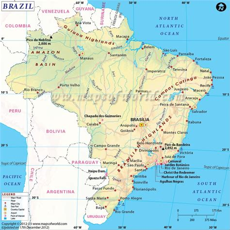 brazil map brazil map brazil country study