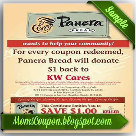 printable gift cards panera bread where to find free printable panera bread coupons online
