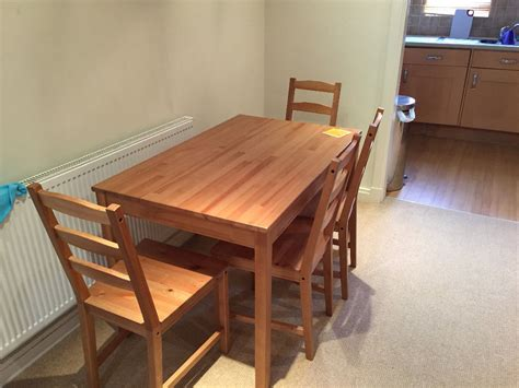 Jokkmokk Table by Jokkmokk Table And 4 Chairs In Guildford Surrey