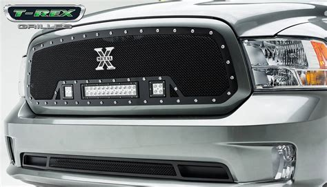 dodge ram grill with lights dodge ram 1500 torch series led light grille single 2 3