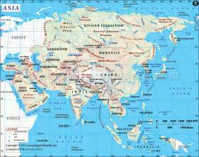 Where Is Asia On The Map by Map Of Asia Political Map Of Asia South Asia Map Asia