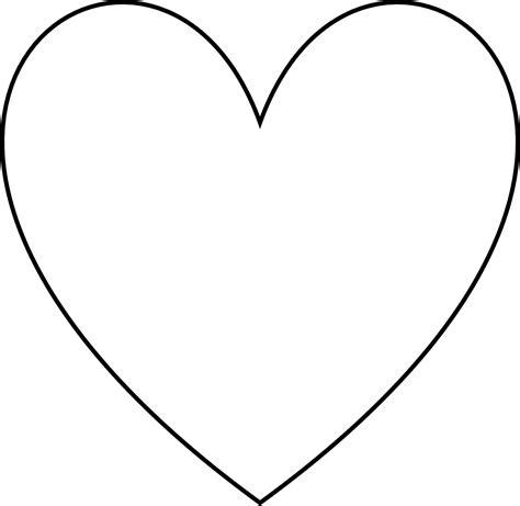 imagenes de corazones en blanco heart shaped clipart 2d shapes pencil and in color heart