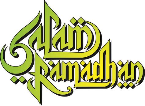 Kaos Salam Ramadhan salam ramadhan vector all free vector