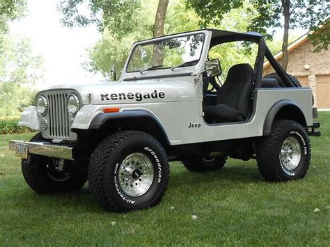 jeep renegade 1985 buy used 1985 jeep cj7 renegade fresh two year restoration