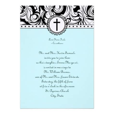 Christian Wedding Invitations by 1000 Images About Christian Wedding Invitations On