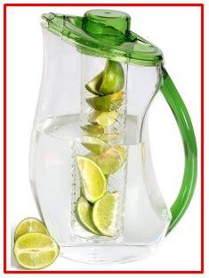 gelas untuk membuat infused water cara mudah menurunkan berat badan dengan infused water