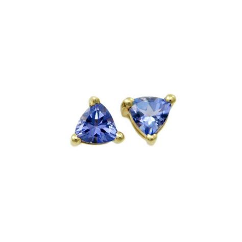 84 carat earrings 0 84 carat trillion tanzanite earrings alaska jewelry