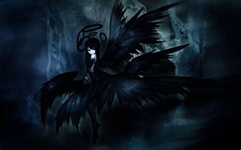 wallpaper hd black angel black angel anime wallpaper wallpapersafari