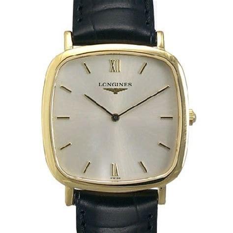 longines l47126752 18k solid gold watchallure