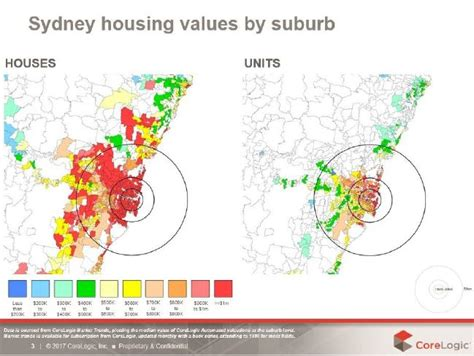 Apartment Price Map Sydney House Prices By Suburb Map Comparing 2016 And 2011