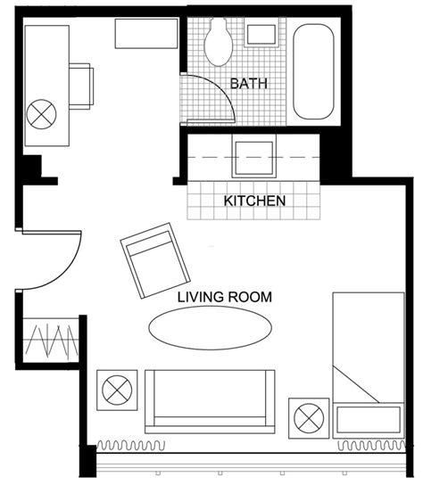 floor plan small apartment rooms floor plans seabury graduate housing division of