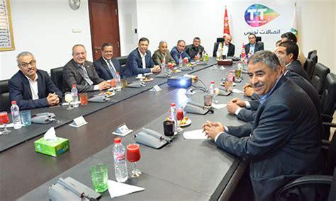 siege tunisie telecom les dirigeants de l ugtt re 231 us au si 232 ge de tunisie telecom