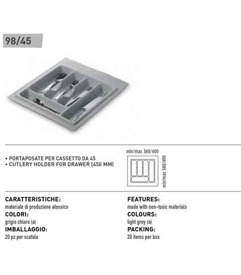 portaposate per cassetto portaposate per cassetto inoxa 98 45 mancini mancini shop