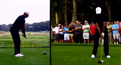 tiger woods swing tiger woods golf swing under sean foley enlightening golf