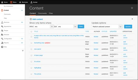 theme drupal admin drupal demo site 187 try drupal without installing it