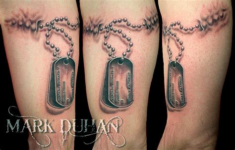 dog tag tattoo 66 tattoos