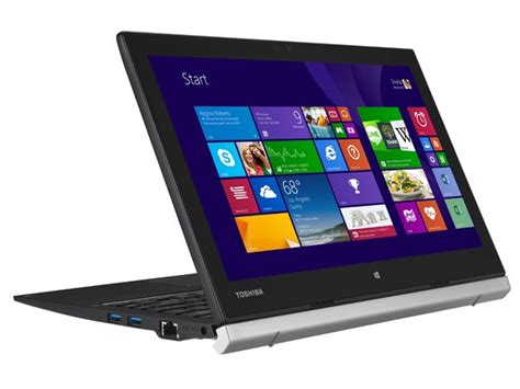 toshiba port 233 g 233 z20 tablet laptop goes official with 12 5 inch screen intel m in tow