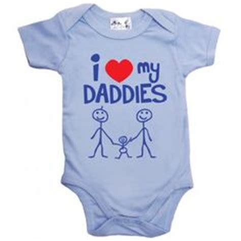 I love my daddies bodysuit baby clothes from www dirtyfingers co uk lgbt gay parents pride