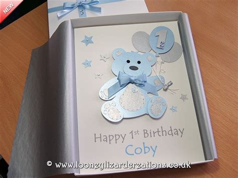 Handmade 1st Birthday Gifts - birthday luxury handmade 1st birthday card