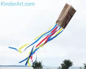 How To Make A Paper Bag Kite - paper grocery bag kites crafts for kinderart