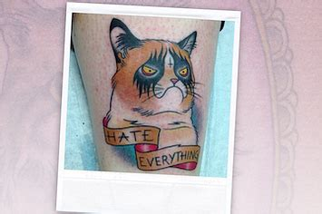 cat tattoo buzzfeed weird and wonderful cat tattoos