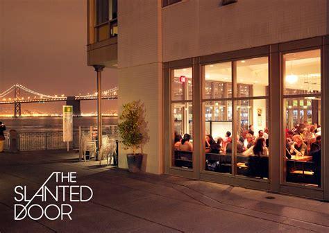 The Door Restaurant In by Slanted Door Restaurant Branding Sprk All Things