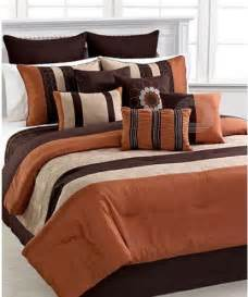 Down Comforter Duvet Cover Elston Spice 12 Piece King Comforter Set Ebay