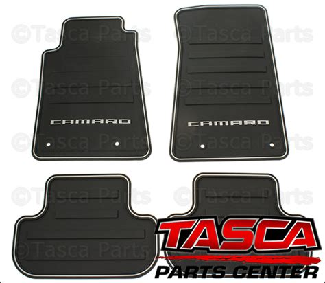 Oem Floor Mats Chevrolet by New Oem All Weather Black Rubber Floor Mats 2010 2015