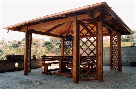 gazebi usati in legno gazebo in legno usato casette lamiera prezzi e offerte