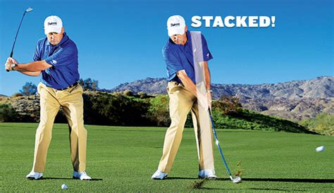 straight right leg golf swing drop 10 strokes in 10 minutes golf tips magazine