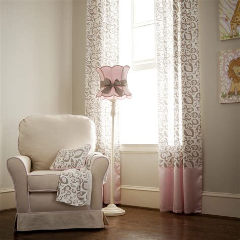 Pink And Taupe Leopard Nursery D 233 Cor Carousel Designs Nursery Bedding And Curtains