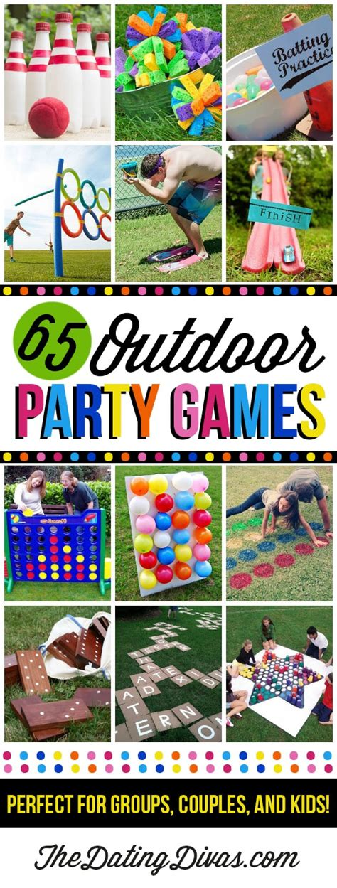 65 outdoor party games for the entire family