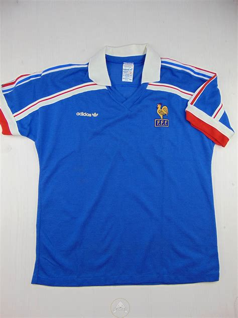 adidas france vintage 80 adidas france t shirt soccer ifbray
