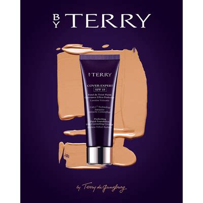 by terry cover expert perfecting fluid foundation spf15 11 amber by terry lumiere veloutee cover expert perfecting fluid