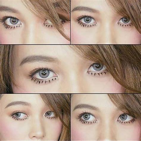 mini sheer gray: colored eye lenses   bbbeautycontact