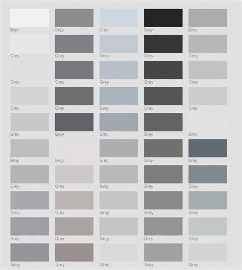 color gris friday inspirations escala de grises