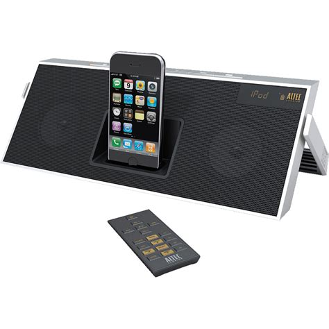 Isoundspa Speaker System For Ipods Is Also A Soothing Sound Station by Altec Lansing Inmotion Classic Ipod Speaker System Imt620 B H