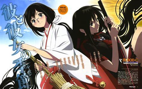 anime comedy episode sedikit blood c bd version