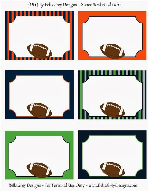 printable super bowl ticket template 135 best football printables images on pinterest