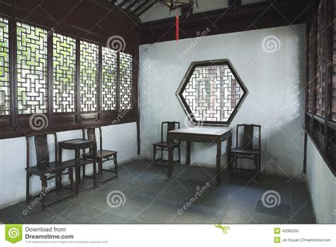 chinese living room wall design and famous ancient painting chinese ancient living room editorial image image 43380295