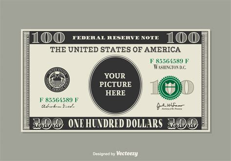 custom card template 187 100 dollar bill drop card template