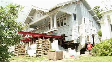 ducky johnson house movers ducky johnson house movers home elevation timelapse new orleans lousiana youtube